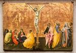 Giovanni di Paolo: Kreuzigung Christi [Um 1430-1435, Lindenau-Museum Altenburg]