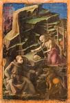 Filippo Lippi: Heiliger Hieronymus als Büßer und ein Karmelitermönch [Um 1435/1436, Lindenau-Museum Altenburg]