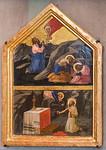 Masaccio: Gebet am Ölberg und heiliger Hieronymus als Büßer [Um 1424/1425, Lindenau-Museum Altenburg]