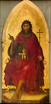 Umkreis des Simone Martini (Barna da Siena?): Johannes der Täufer [Um 1330(?), Lindenau-Museum Altenburg]