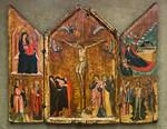 Pacino di Buonaguida: Triptychon mit Kreuzigung Christi [Um 1310-1320, Lindenau-Museum Altenburg]