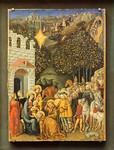 Michele di Michele Ciampanti: Anbetung der Heiligen Drei Könige [Um 1470, Lindenau-Museum Altenburg]