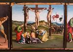 Luca Signorelli und Girolamo Genga: Kreuzigung [Um 1507, Lindenau-Museum Altenburg]