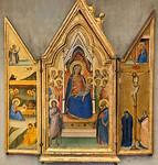 Bernardo Daddi: Triptychon mit Thronender Madonna mit Kind [Um 1340-1345, Lindenau-Museum Altenburg]