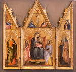 Andrea di Bartolo: Flügelaltärchen [Um 1395-1400, Lindenau-Museum Altenburg]