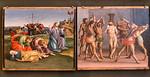 Luca Signorelli und Girolamo Genga: Christus am Ölberg und Geißelung [Um 1507, Lindenau-Museum Altenburg]