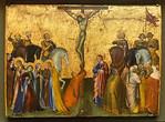 Giovanni di Paolo: Kreuzigung Christi [1426, Lindenau-Museum Altenburg]