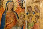 Bernardo Daddi: Triptychon mit Thronender Madonna mit Kind, Detail [Um 1340-1345, Lindenau-Museum Altenburg]