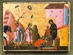 Guido da Siena: Anbetung der Heiligen Drei Könige [Um 1270-1280, Lindenau-Museum Altenburg]