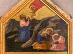Masaccio: Gebet am Ölberg [Um 1424/1425, Lindenau-Museum Altenburg]