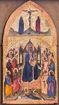 Angelo Puccinelli: Allegorie auf Sündenfall und Erlösung [Um 1385, Lindenau-Museum Altenburg]