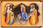 Lorenzo Monaco: Flucht nach Ägypten [Um 1405-1410, Lindenau-Museum Altenburg]