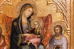 Andrea di Bartolo: Flügelaltärchen, Detail [Um 1395-1400, Lindenau-Museum Altenburg]