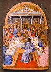 Agnolo Gaddi: Letztes Abendmahl [Um 1395, Lindenau-Museum Altenburg]