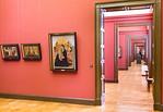 Lindenau-Museum Altenburg: Blick durch die Italienersammlung Richtung Osten