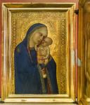 Pietro Lorenzetti: Madonna mit Kind [Um 1340-1345, Lindenau-Museum Altenburg]