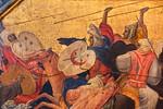 Gherardo Starnina: Kampf orientalischer Reiter, Detail [Um 1400-1405, Lindenau-Museum Altenburg]