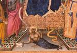 Angelo Puccinelli: Allegorie auf Sündenfall und Erlösung, Detail [Um 1385, Lindenau-Museum Altenburg]