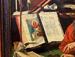 Marinus van Reymerswale: Der heilige Hieronymus (Antwerpen, Museum der Schönen Künste)