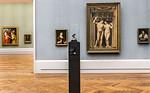 Büste von Conrad Meit in Raum VI (J.v. Cleve, J. Gossaert, links Rubens) [Gemäldegalerie Berlin]