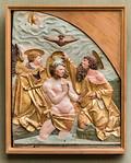 Hans Leinberger: Taufe Christi (um 1515) [aus Bode-Museum Berlin]