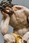 Hans Leinberger: Christus im Elend, Detail (um 1525) [aus Bode-Museum Berlin]