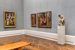 Christus von Hans Leinberger in Raum III (Baldung Grien) [Gemäldegalerie Berlin]