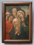 Hugo van der Goes: Die Beweinung Christi, um 1480 [Gemäldegalerie Berlin]