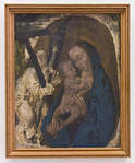 Hugo van der Goes: Madonna mit Engel, um 1480 [Germanisches Nationalmuseum Nürnberg]