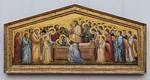 Giotto: Die Grablegung Mariae [um 1310, Gemäldegalerie Berlin]