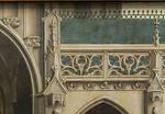 Simon Marmion: Omer-Retabel, Feld 9. Architekturdetail [1459, Gemäldegalerie Berlin]
