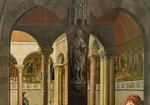 Simon Marmion: Omer-Retabel, Feld 8. Totentanz [1459, Gemäldegalerie Berlin]