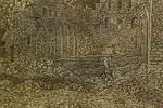 Hercules Seghers: Die Ruine des Klosters Rijnsburg, Große Version, Detail [um 1620/30, Kupferstichkabinett Berlin]