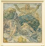 Hercules Seghers: Die Beweinung Christi (nach Hans Baldung Grien) [um 1620, Kupferstichkabinett Berlin]