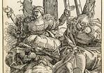 Hans Baldung Grien: Christi Beweinung [um 1512, Kupferstichkabinett Berlin]