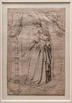 Gerard David (oder Umkreis): Madonna am Springbrunnen [Um 1500, Kupferstichkabinett Berlin]