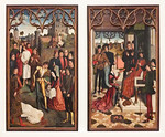 Dieric Bouts: Gerechtigkeitsbilder (Brüssel, Museum der Schönen Künste)