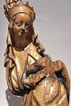 Maria; Anfang 15. Jhdt.; Laubholz, Reste von Fassung; aus Gersdorf bei Döbeln; Schlossbergmuseum Chemnitz