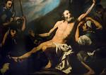 José de Ribera: Martyrium St. Bartolomäus, Detail [Academia de Bellas Artes, Madrid]