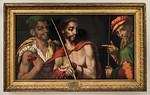 Luis de Morales: Christus vor Pilatus [1515-1570, Academia de Bellas Artes, Madrid]
