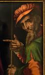 Luis de Morales: Christus vor Pilatus, Detail [1515-1570, Academia de Bellas Artes, Madrid]