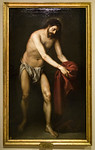 Alonso Cano: Christus nimmt seine Kleider auf [um 1646, Academia de Bellas Artes, Madrid]