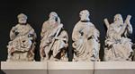 Münster, Domkammer, ehem. Domlettner: Petrus, Jakobus d.Ä., Bartholomäus, Andreas