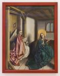 Verkündigung (Konrad Witz, um 1445, GNM)
