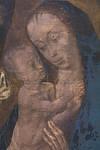 Madonna mit Engel (Hugo van der Goes, um 1480, GNM)