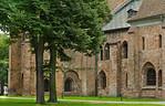 Brandenburg, Dom. Chor und Bunte Kapelle von Osten, Detail