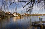 Brandenburg, Blick auf Dominsel von Süden
