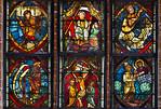 Brandenburg/Havel, Paulikloster. Chorscheitelfenster, Zeilen 7,8