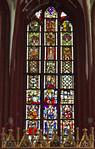 Brandenburg, Dom. Chorfenster, aus mehreren Resten kombiniert