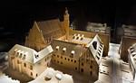 Brandenburg, Paulikloster. Modell von Südwesten